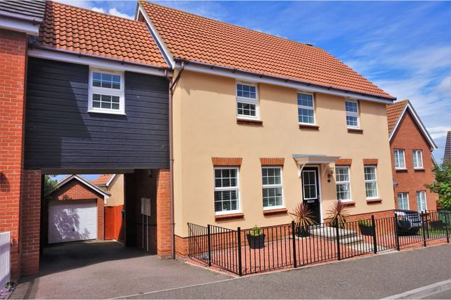 Thumbnail Link-detached house for sale in Stour Close, Harwich