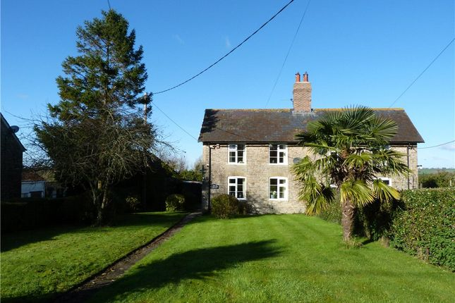 Thumbnail Semi-detached house to rent in Church Farm Cottage, Leigh, Sherborne, Dorset