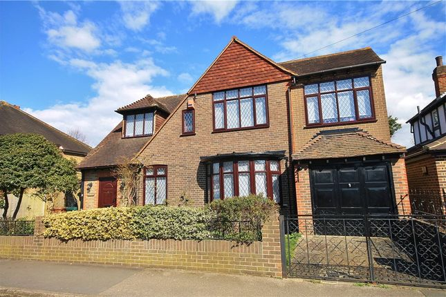 Thumbnail Detached House For Sale In Fontmell Park Ashford Middle