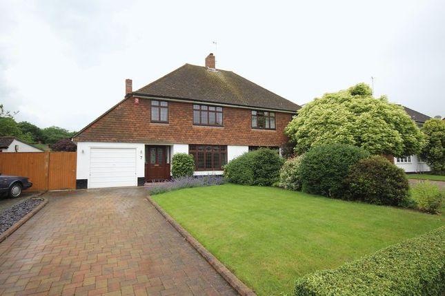 Thumbnail Semi-detached house to rent in Ashden Walk, Tonbridge