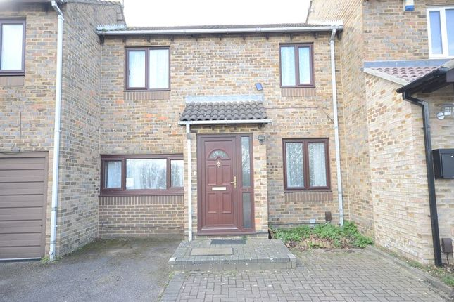 Thumbnail Terraced house to rent in Hawkedon Way, Lower Earley, Reading
