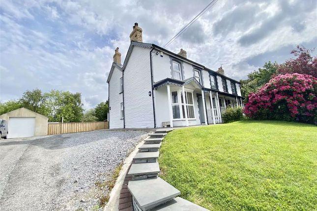 Thumbnail Semi-detached house for sale in Penllyn, Cilgerran, Cardigan, Ceredigion