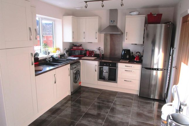 Thumbnail End terrace house for sale in Hutton Way, Faldingworth, Market Rasen