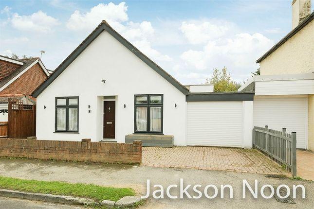 Thumbnail Detached bungalow for sale in Belfield Road, West Ewell, Epsom