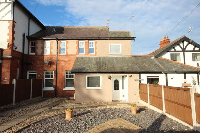 Thumbnail Terraced house for sale in Queens Road, Llandudno
