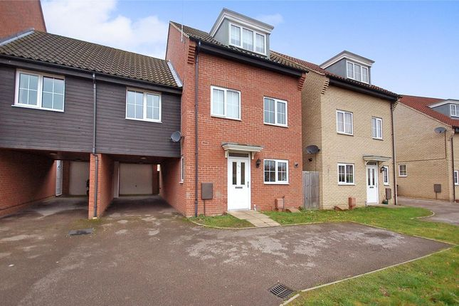 Thumbnail Link-detached house for sale in Charlock Road, Thetford