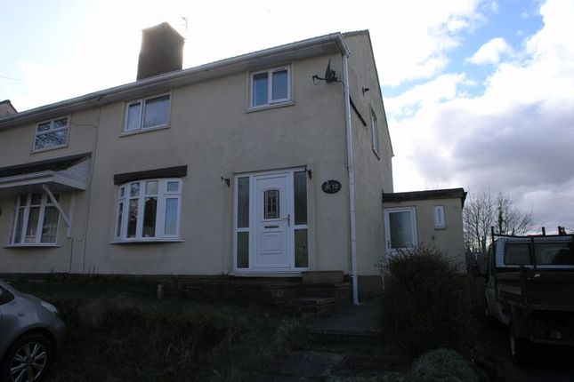 Thumbnail Semi-detached house to rent in Round Hill, Sedgley, Dudley