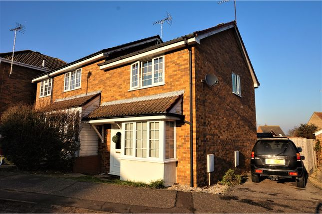 Thumbnail Semi-detached house for sale in Gainsborough Drive, Manningtree