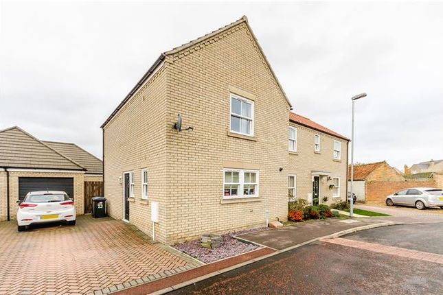 Thumbnail Semi-detached house for sale in Chambers Way, Little Downham, Ely