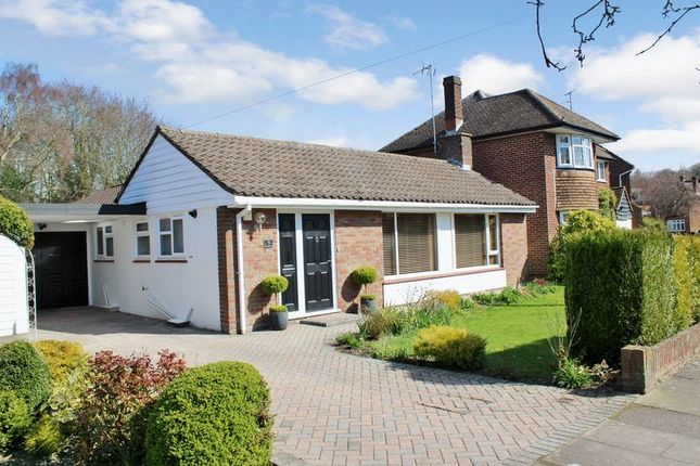 Thumbnail Detached bungalow for sale in Coombe Drive, Dunstable