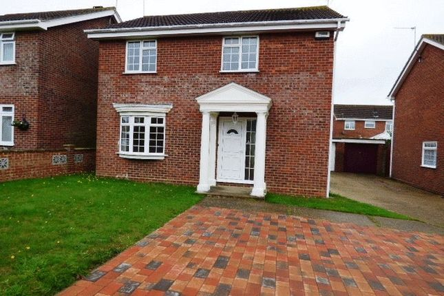 Thumbnail Detached house to rent in Rushlake Way, Carlton Colville, Lowestoft
