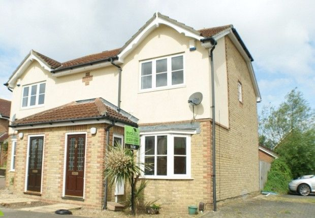 Thumbnail Semi-detached house to rent in Manor House Drive, Ashford, Kent