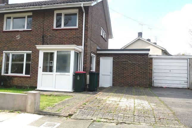 Thumbnail Terraced house to rent in Garrick Walk, Crawley