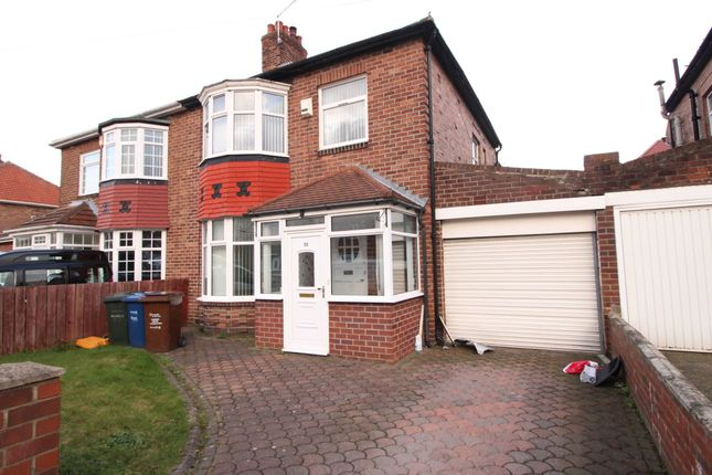 Thumbnail Semi-detached house for sale in Kingsway, Fenham, Newcastle Upon Tyne