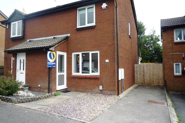 Semi-detached house to rent in Purdey Close, Barry, Vale Of Glamorgan