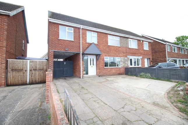 Thumbnail Semi-detached house for sale in St. Nicholas Drive, Grimsby