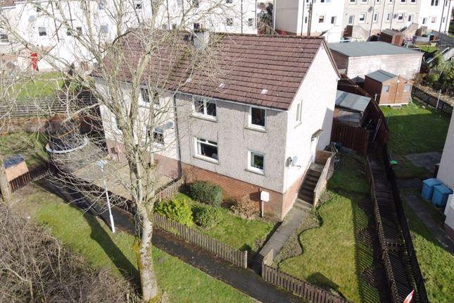 Aerial Photo of Anderson Crescent, Queenzieburn, Kilsyth, Glasgow G65
