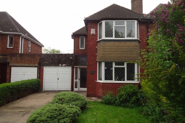 Thumbnail Semi-detached house for sale in Comberford Road, Tamworth
