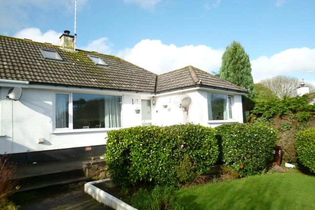 Thumbnail Semi-detached bungalow for sale in Lower Gurnick Road, Newlyn, Penzance