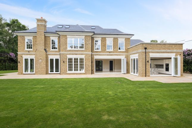 Thumbnail Detached house for sale in Farmleigh Grove, Burwood Park, Hersham, Walton-On-Thames