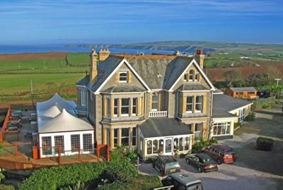 Thumbnail Hotel/guest house for sale in Longcross Hotel, Trelights, Port Isaac, Cornwall