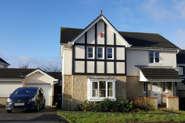 Thumbnail Detached house to rent in Woodfield Crescent, Ivybridge