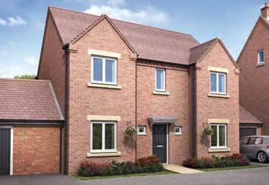 """Thumbnail Detached house for sale in """"The Montford"""" at Darrall Road, Lawley Village, Telford"""