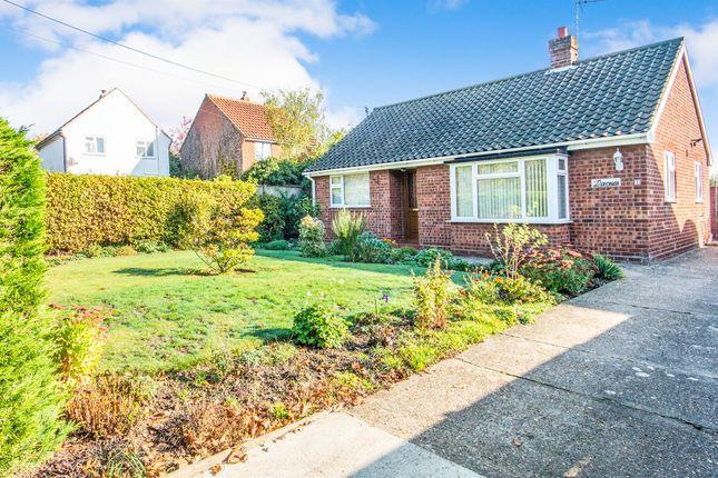 Thumbnail Detached bungalow for sale in Wallers Lane, Foulsham, Dereham