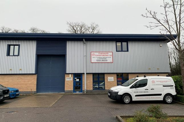 Thumbnail Warehouse to let in Unit 1 Axis Park, Fort Fareham Industrial Site, Fareham, Hampshire