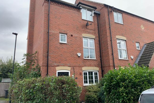 Thumbnail 4 bed town house to rent in Sinfin Moor Lane, Chellaston, Derby
