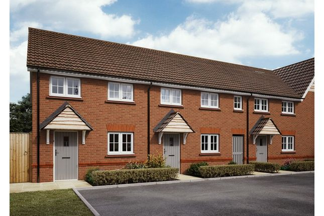 CGI Exterior of Plots 51 & 52 The Tavy, Wendlescliffe, Evesham Road, Bishops Cleeve, Gloucestershire GL52