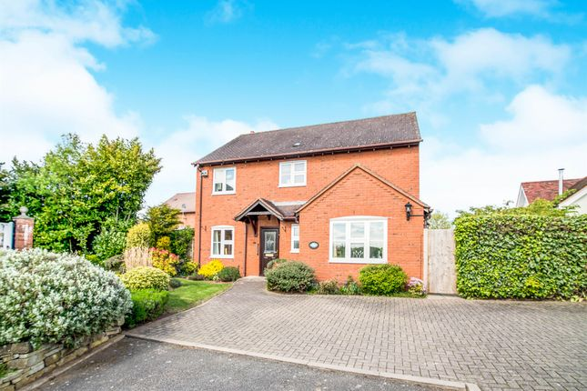 Thumbnail Detached house for sale in The Osiers, Elford, Tamworth