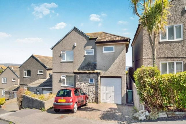 Thumbnail Detached house for sale in Gurnick Road, Newlyn, Penzance