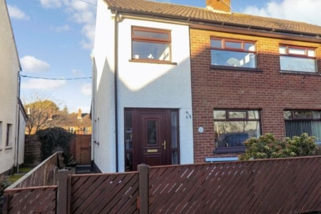 Thumbnail Semi-detached house to rent in Peel Gardens, Ballinderry Upper, Lisburn