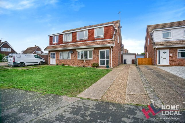 Thumbnail Semi-detached house for sale in Munnings Drive, Clacton-On-Sea, Essex