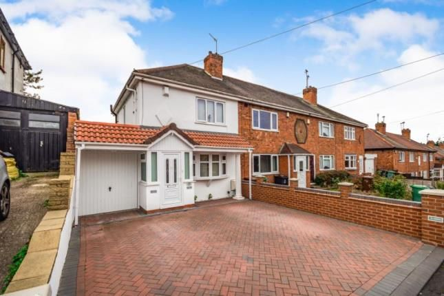 Thumbnail End terrace house for sale in York Avenue, Walsall, West Midlands