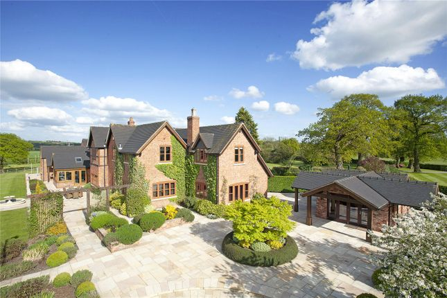 Thumbnail Detached house for sale in Cherry Tree Lane, Woore, Crewe