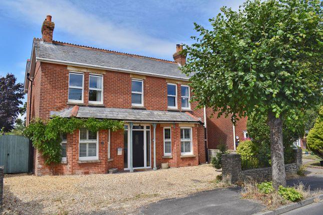 Thumbnail Detached house for sale in Ashley Lane, Hordle, Lymington