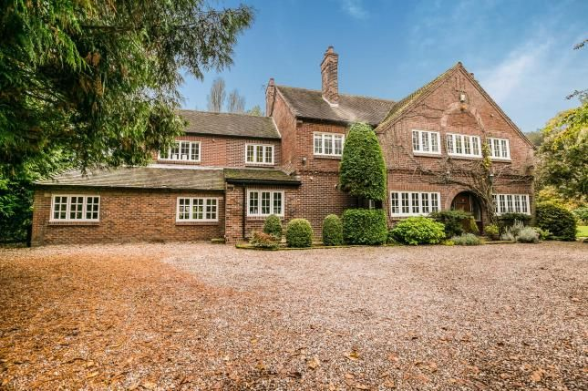 Thumbnail Detached house for sale in Benty Heath Lane, Willaston, Neston, Cheshire