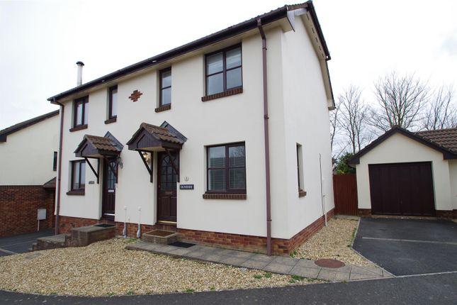 Thumbnail Semi-detached house for sale in Ora Stone Park, Croyde, Braunton