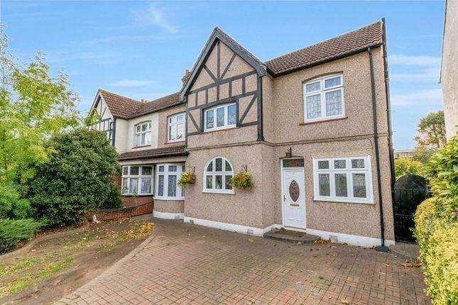 Thumbnail Semi-detached house for sale in Brandville Gardens, Barkingside, Ilford