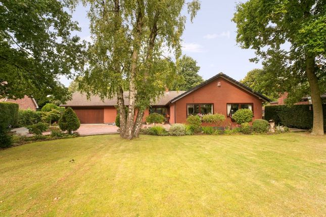 Thumbnail Detached bungalow for sale in Heathwood Road, Higher Heath, Whitchurch