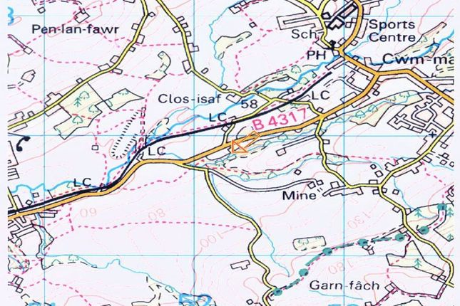 Land for sale in Dynant Fach Colliery, Near Tumble, Llanelli, Carmarthenshire