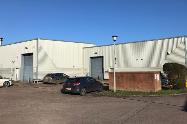Thumbnail Industrial to let in South View Estate, Willand