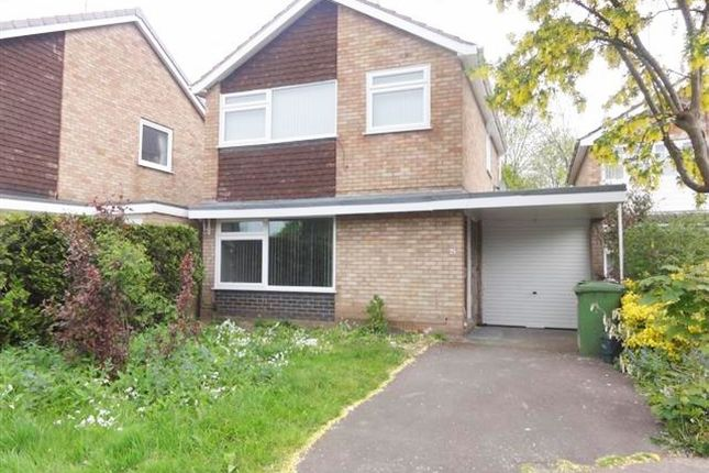 Thumbnail Detached house to rent in Cranmore Road, Wolverhampton