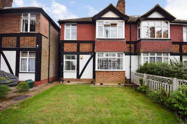 Thumbnail Flat for sale in Abbott Avenue, London