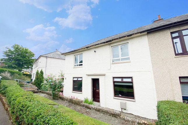 Thumbnail Flat for sale in Park Crescent, Dalmellington, Ayr