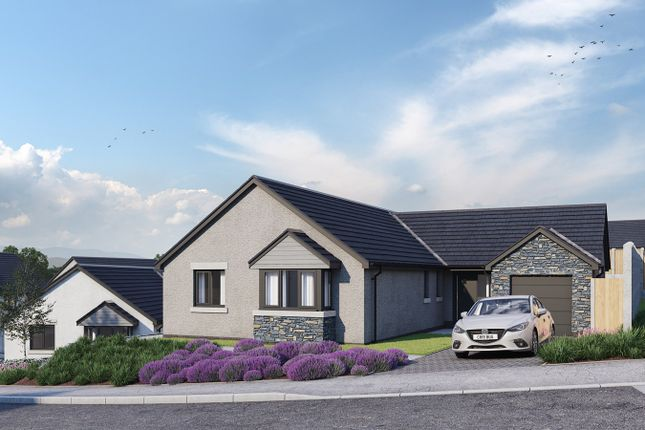 Thumbnail Bungalow for sale in Hoggan Park, Brecon