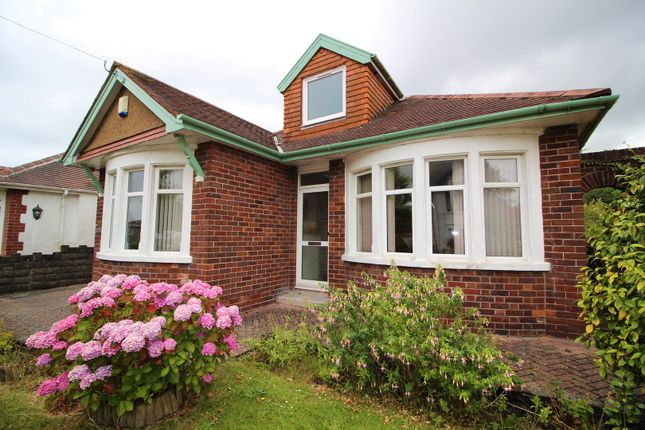 Thumbnail Detached bungalow for sale in Trelawney Crescent, Rumney