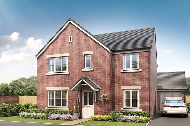 "Thumbnail Detached house for sale in ""The Corfe"" at Fellows Close, Weldon, Corby"